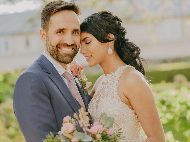 La boda de Óscar  y Massiel  en El Escorial, Madrid 20
