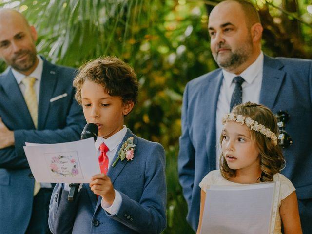 La boda de Óscar  y Massiel  en El Escorial, Madrid 24