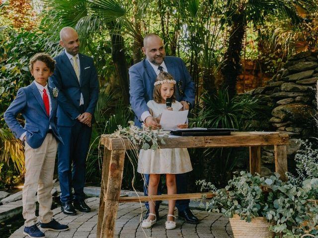 La boda de Óscar  y Massiel  en El Escorial, Madrid 25