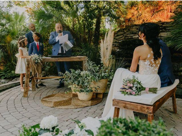 La boda de Óscar  y Massiel  en El Escorial, Madrid 27