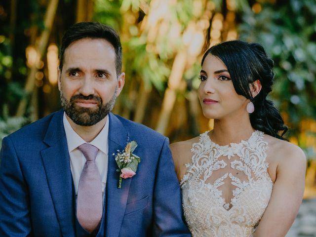 La boda de Óscar  y Massiel  en El Escorial, Madrid 33
