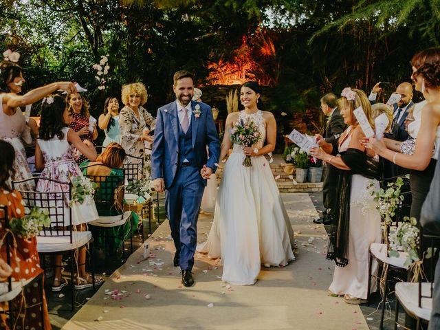 La boda de Óscar  y Massiel  en El Escorial, Madrid 37