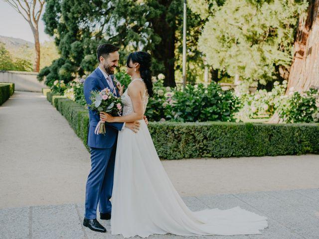 La boda de Óscar  y Massiel  en El Escorial, Madrid 46