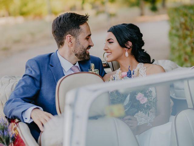 La boda de Óscar  y Massiel  en El Escorial, Madrid 53