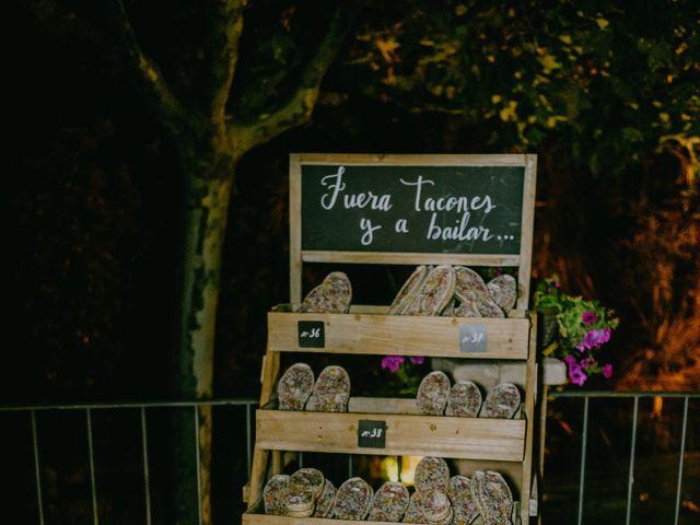 La boda de Óscar  y Massiel  en El Escorial, Madrid 56