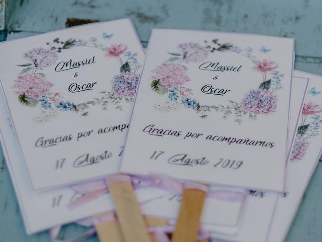 La boda de Óscar  y Massiel  en El Escorial, Madrid 57