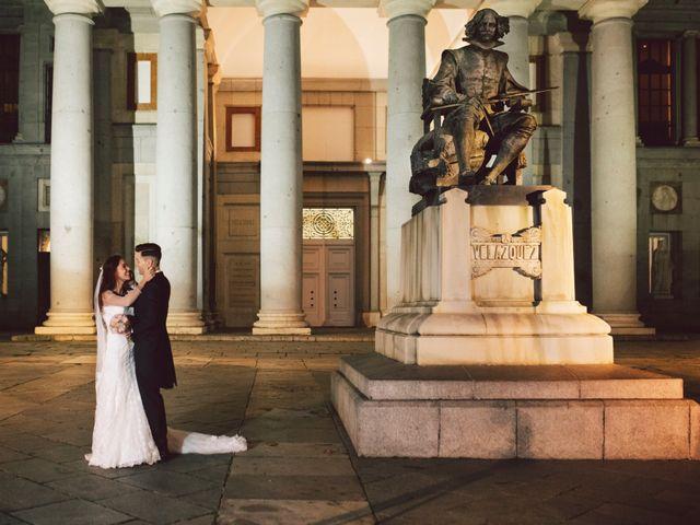 La boda de Andrea y Alex en Madrid, Madrid 43