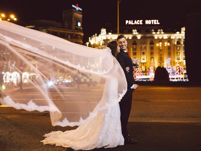 La boda de Andrea y Alex en Madrid, Madrid 45