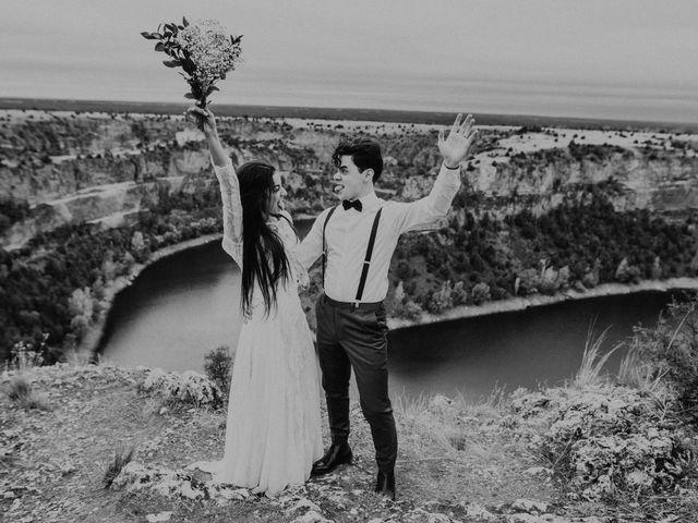 La boda de Mat y Lua en Segovia, Segovia 34