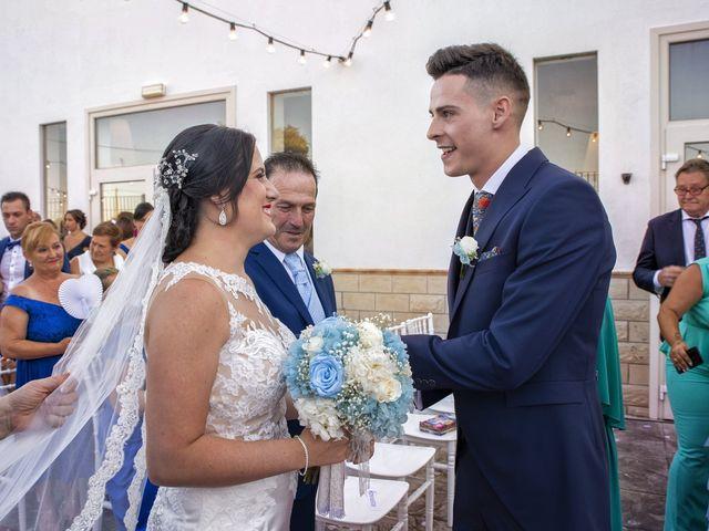 La boda de Nazaret y Adrián en San Fernando, Cádiz 17