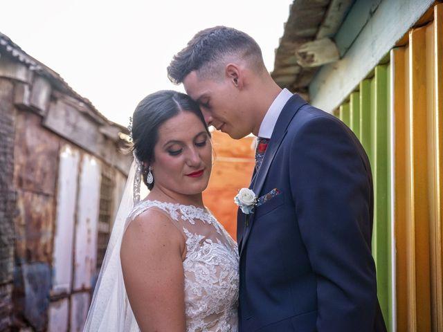 La boda de Nazaret y Adrián en San Fernando, Cádiz 27