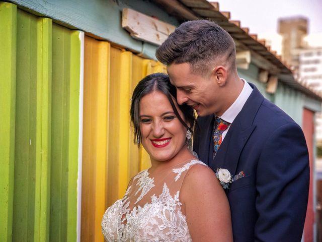 La boda de Nazaret y Adrián en San Fernando, Cádiz 28