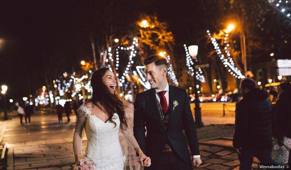 La boda de Andrea y Alex en Madrid, Madrid