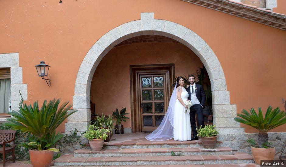 La boda de Fede y Bea en Sant Andreu De Llavaneres, Barcelona