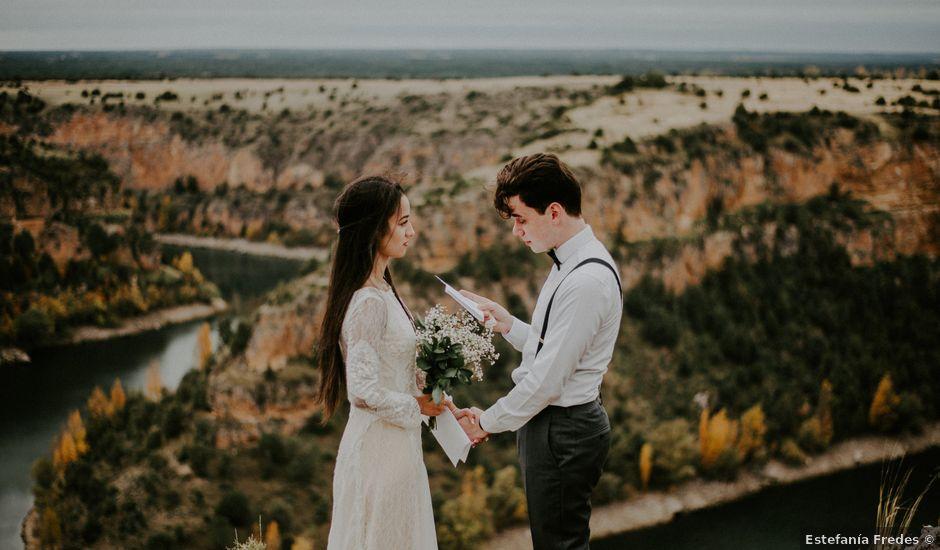 La boda de Mat y Lua en Segovia, Segovia