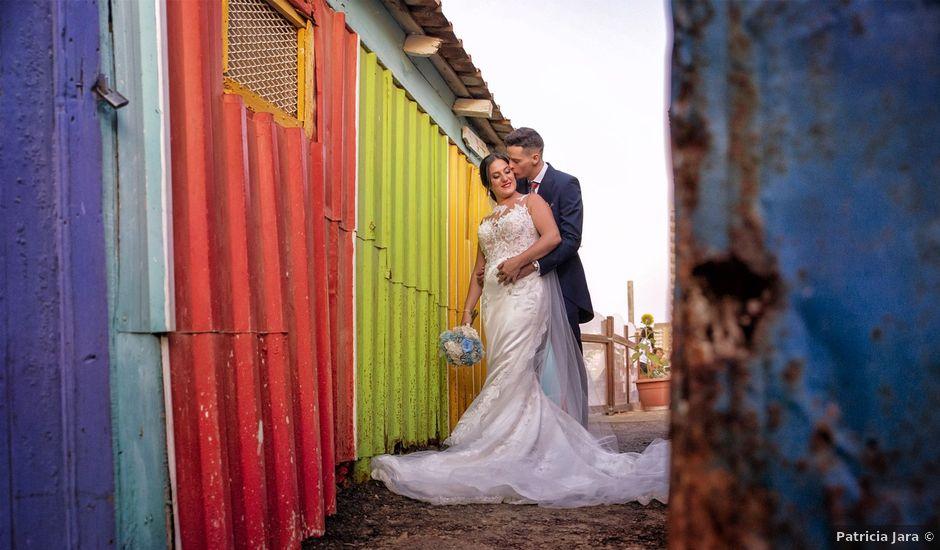 La boda de Nazaret y Adrián en San Fernando, Cádiz
