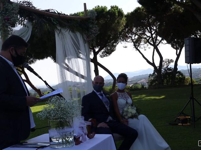La boda de Angel y Cristina en Sant Vicenç De Montalt, Barcelona 1