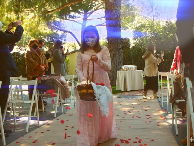 La boda de Alberto y Beatriz en Guadarrama, Madrid 1