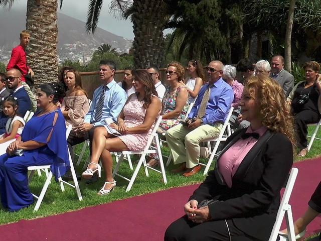La boda de Alberto y Talía en Galdar, Las Palmas 1