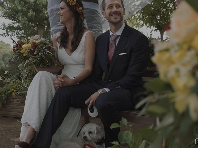 La boda de Miguel y Marina en Estanyol, Girona 1