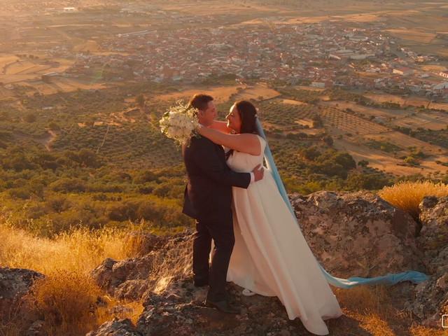 La boda de Raúl y Inma en Herrera Del Duque, Badajoz 2