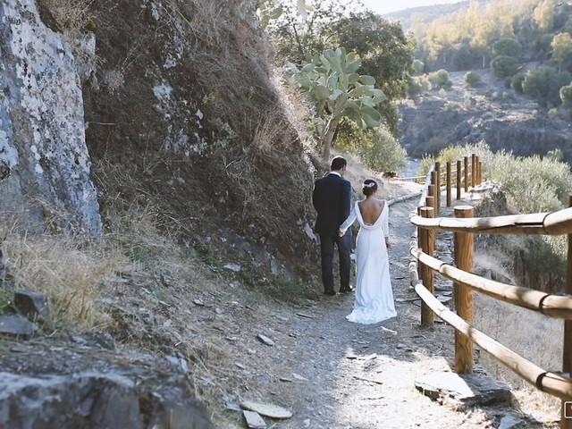 La boda de Alejandro y Beatriz en Garrovillas, Cáceres 1