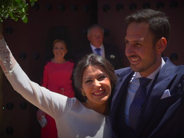 La boda de Alejandro y Isabel en Almendralejo, Badajoz 1