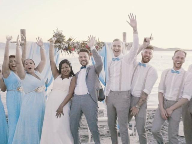 La boda de Serge y Amelia en La Manga Del Mar Menor, Murcia 1