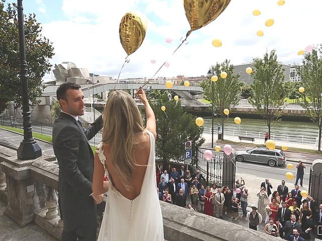 La boda de Quique y Ainara en Bilbao, Vizcaya 2