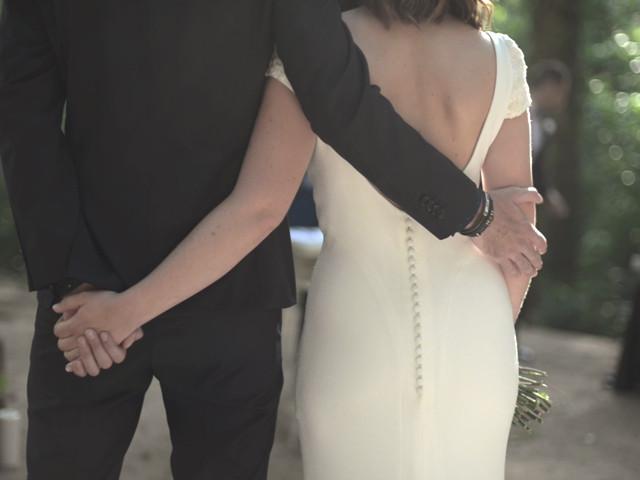 La boda de Angel y Cristina en Vilanova De Sau, Barcelona 1