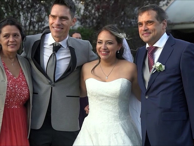 La boda de Claudio y Alejandra en Leganés, Madrid 1