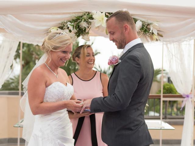La boda de Damien y Dawn en Adeje, Santa Cruz de Tenerife 1