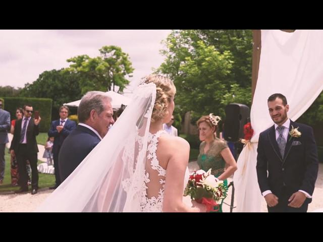 La boda de Javier y María en Chinchon, Madrid 1