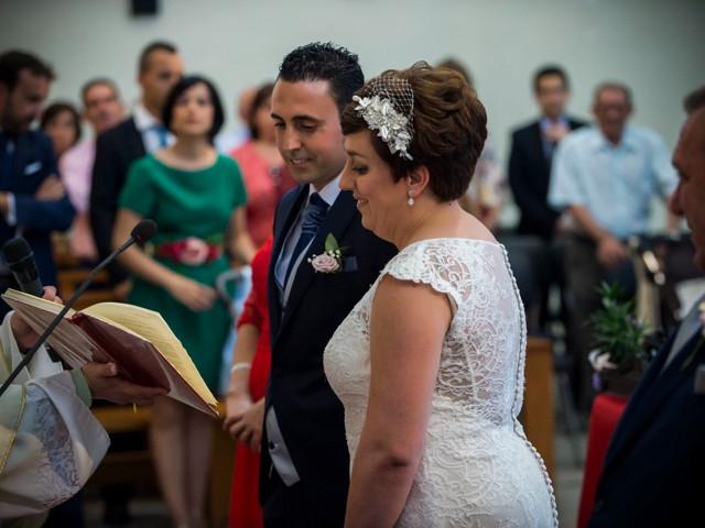 La boda de Marcos y Marta en Guadamur, Toledo 1
