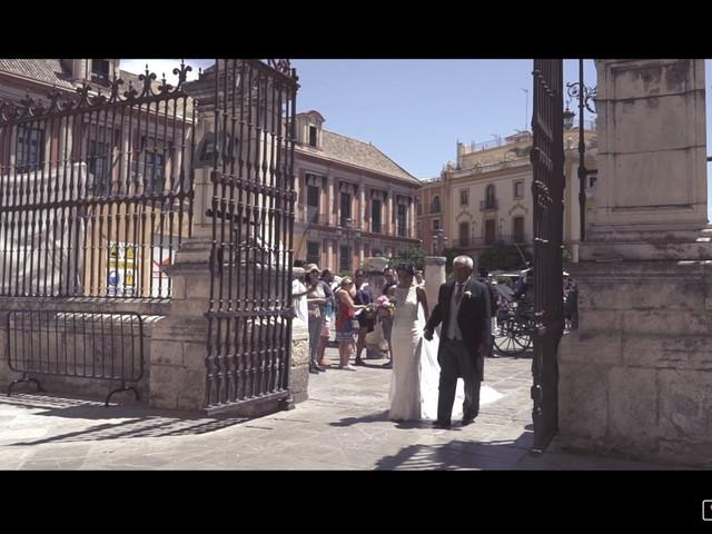 La boda de Javier y Karina en Sanlucar La Mayor, Sevilla 1