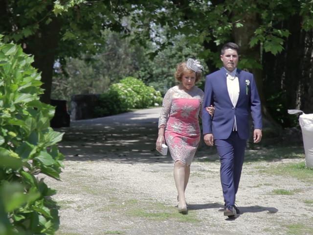 La boda de Pablo y Johana en Moraña (San Lourenzo), Pontevedra 1