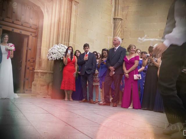 La boda de Víctor y Nathalie en Elciego, Álava 1