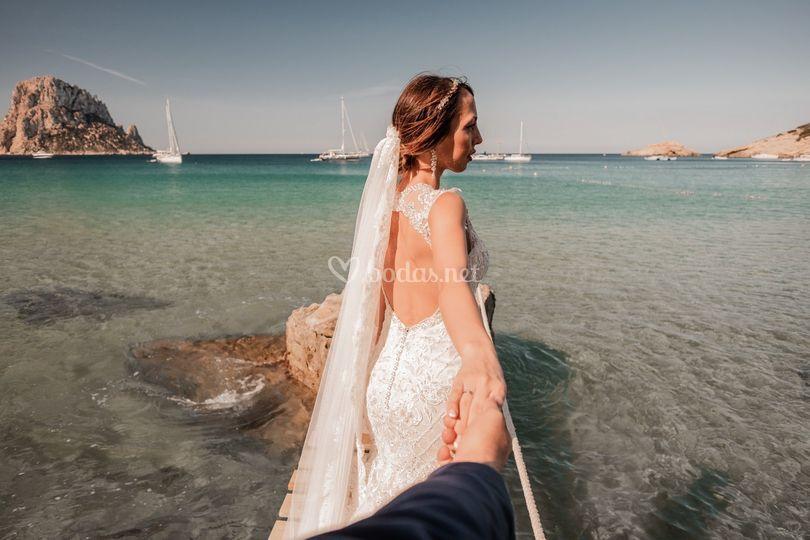 Postboda en Ibiza