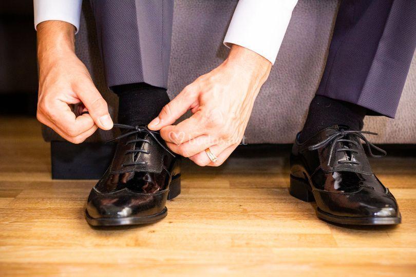 Zapatos del novio