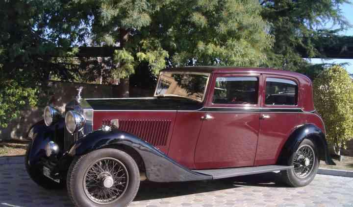 Rolls Royce Sports Saloon 1929