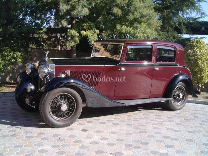 Rolls Royce Sports Saloon 1929