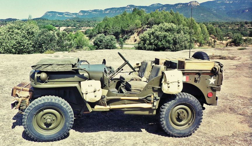 Auténtico Jeep de 1945