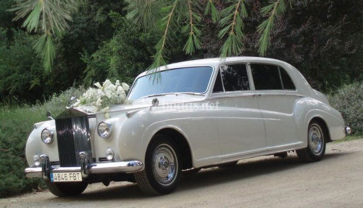 Rolls Royce Phantom V Blanco