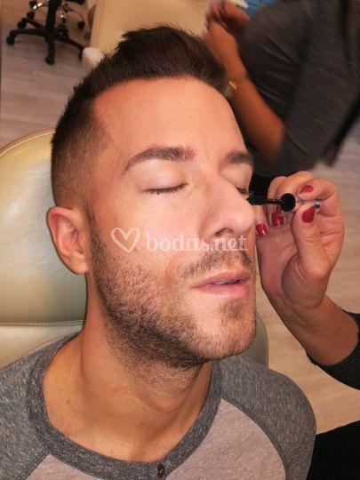 Maquillaje para novio