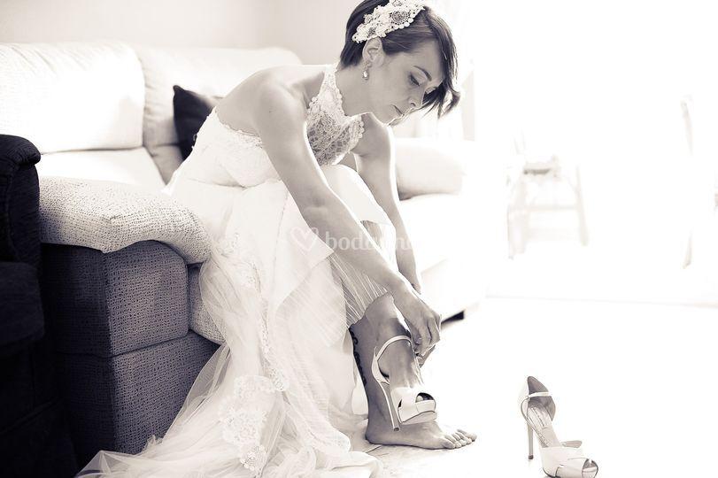 Últimos momentos novia