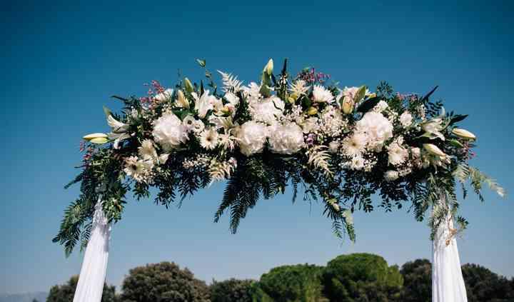 Arco de la ceremonia
