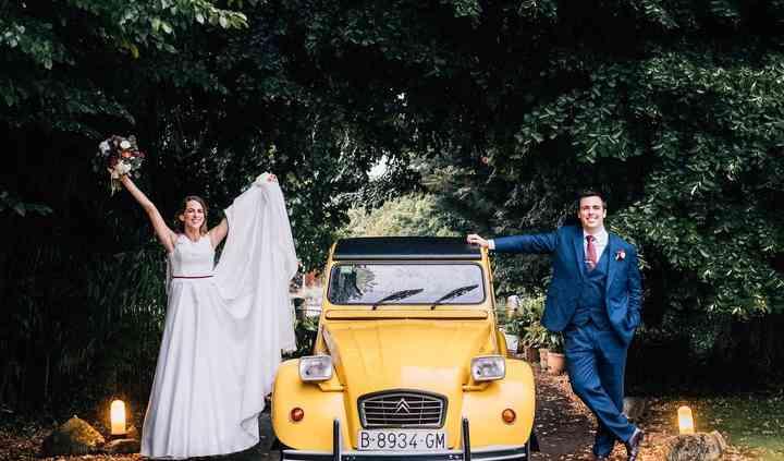 Real bride Mireia Vidal
