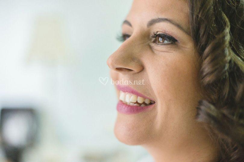 Detalle de maquillaje