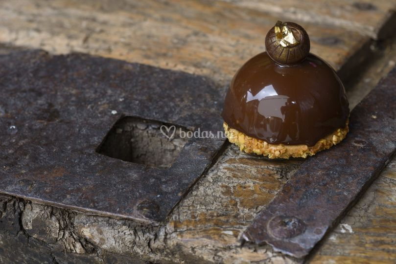 Bomba de crujiente de chocolate