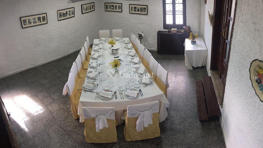Salón catalán eventos